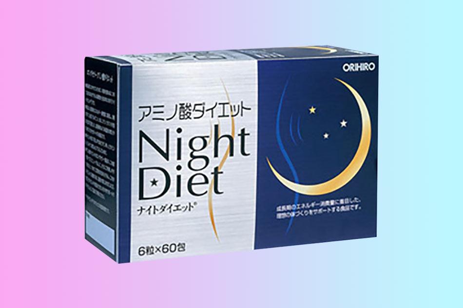 Hình ảnh hộp Trà giảm cân Orihiro Night Diet