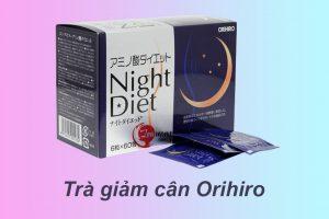 Trà giảm cân Orihiro