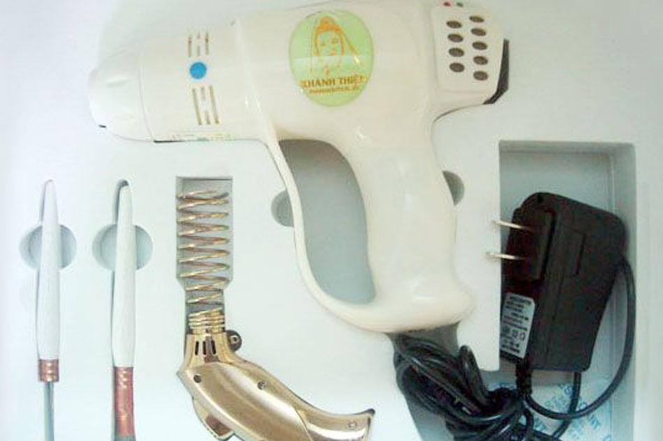Máy cứu ngải Khánh Thiện được cấp bằng sáng chế độc quyền của bộ Khoa học và Công nghệ