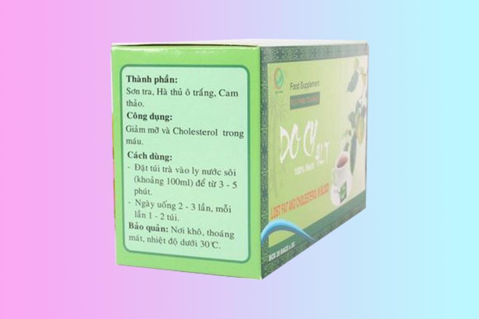 Hình ảnh hộp Trà giảm cân Docy