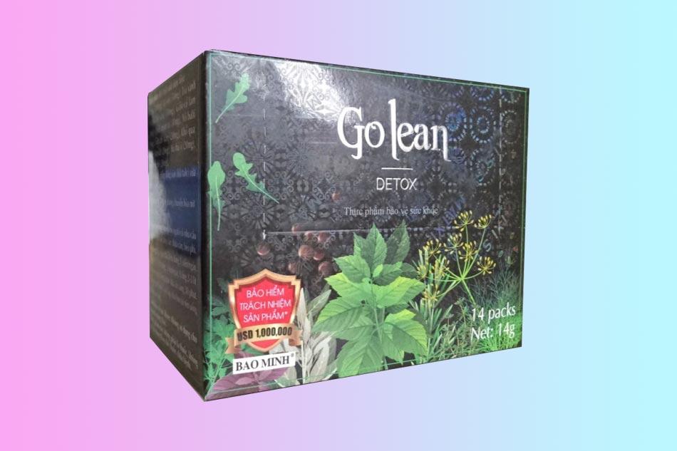 Hình ảnh hộp Trà giảm cân Golean