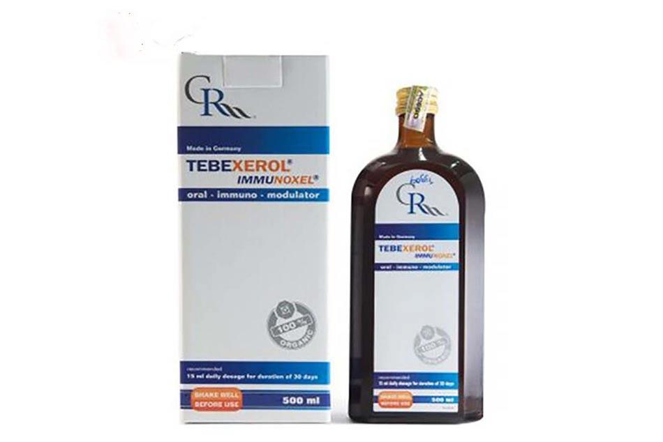 Hình ảnh chai Tebexerol Immunoxel 500ml
