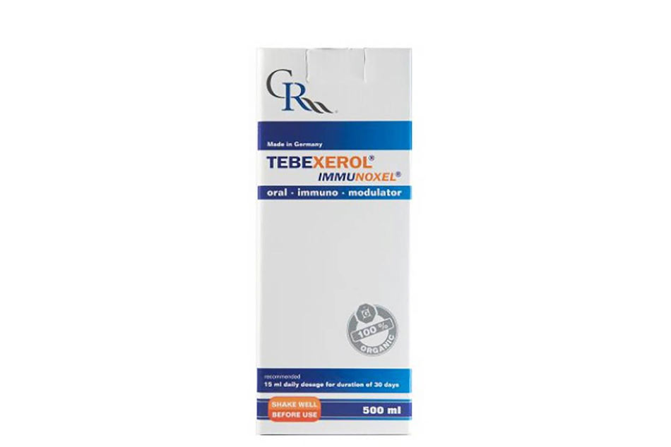 Tebexerol Immunoxel tăng cường sức đề kháng cho trẻ em và người lớn